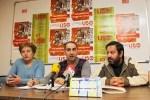 Rueda de prensa del Comité de empresa de  la UTE Legio VII. 11 enero 2010. El Mundo.es