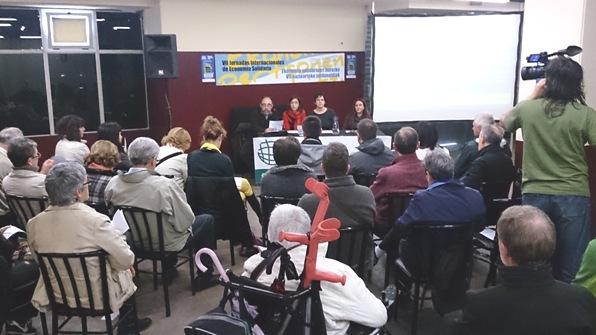 VII Jornadas Internacionales de Economía Solidaria. Pamplona, 26-27 abril 2014. Fuente: Konsumoresponsable.coop.