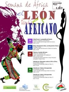 Semana de África, el 'León' también africano. 26-29 mayo 2014. Fuente: Unecologistaenelbierzo.wordpress.com.