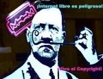 ¡Internet libre es peligroso! 2009. Davidhammerstein.com.