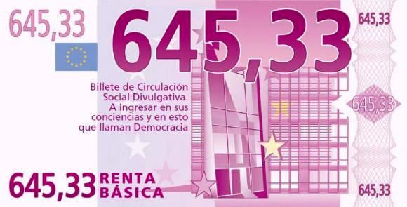 Campaña ILP Renta Básica. 2014. Goteo.org.