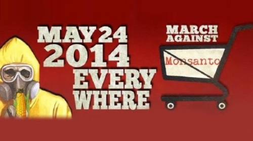 Campaña mundial contra Monsanto. 24 mayo 2014.