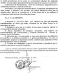 Decreto municipal de paralización de la cantera Peña del Horno II (2/2). Priaranza del Bierzo, 12 dic. 2007. Unecologistaenelbierzo.