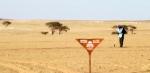 Trabajos de desminado de Naciones Unidas en Mijek, Sahara Occidental. Mayo 2012. Un.org.
