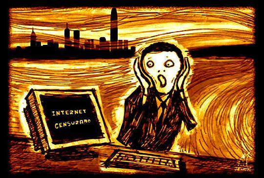 Internet censurado. 2009. Fuente: davidhammerstein.com.