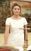 Isabel García Tejerina jurando cargo como ministra. Madrid, 28 abril 2014. Wikipedia. Foto: Moncloa.