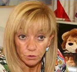 La presidenta de la Diputación de León, del PP, de Gersul, etc., Isabel Carrasco. 2012. Leonoticias.com.