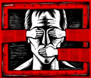 Libertad de expresión. 2009. Kaosenlared.net.