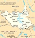 Sudán del Sur. 2011. Wikipedia.org. Sudan-CIA.