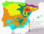 Ocupación potencial de los bosques de la península Ibérica y Baleares. Fuente Wikipedia.org. Autor: Carlosblh.