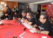 Oposición a la estación de esquí en el Moredero. Ponferrada,10 febr. 2013.