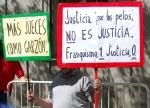 Pancartas de apoyo al juez Garzón. 9 sept. 2009. Memoriaviva.wordpress.com.