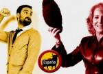Polémica en Twiter entre el actor Dani Rovira y Esperanza Aguirre. Marzo 2014. Vertele.com.