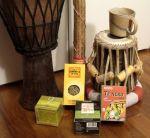 Productos de artesanía africanos. 26 dic. 2005. Wikipedia.org. Autor: Rosco.