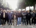 Protesta social en Túnez. Enero 2011.
