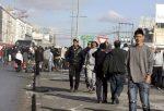 Protestas en el centro de Túnez. Enero 2011. Heraldo.es.