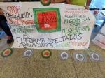 Protesta PAH. Ponferrada., 30 mayo 2014. Fuente: unecologistaenelbierzo.wordpress.com. Foto: J. Fernández.