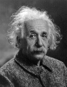 Albert Einstein. Fuente: Wikipedia.org. Foto: Oren Jack Turner.