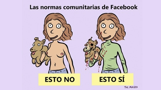 Campaña contra el maltrato animal en Facebook. 24 jun. 2014.