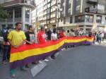 Celebración de la abdicación de  Juan Carlos I. Ponferrada, 2 jun. 2011.