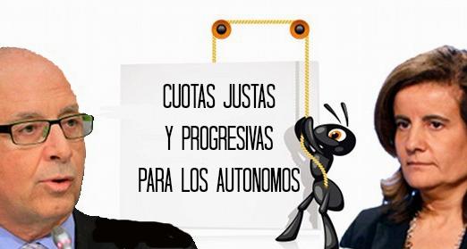 Cuotas justas y progresivas para los autónomos. Jun. 2014. Change.org.