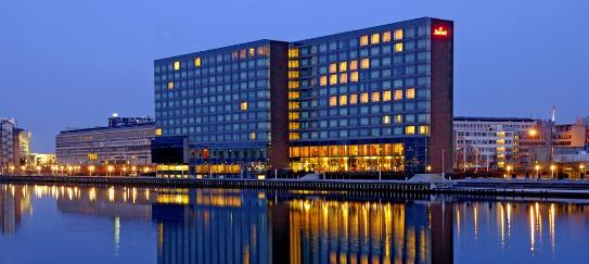 El hotel Marriot. 62ª reunión del Bilderberg. en Copenhague, 31 mayo - 1 jun. 2014