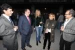 Jaime González, Eduardo Fernández, Mª Teresa Magaz, Isabel Carrasco y José Luis Prada. Canedo, 26 febr. 2011.