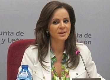 La consejera de Agricultura y Ganadería en la Junta de Castilla y León, Silvia Clemente. Fuente: sesiondecontrol.com.