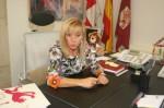 La presidenta de la Diputación Provincial de León, Isabel Carrasco. Elblogdenadie.com.