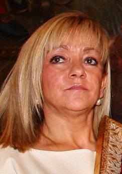 La presidenta de la Diputación Provincial de León, del PP y de Gersul, Isabel Carrasco. Fuente: elsoplon.net.
