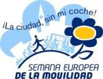 Logo . Semana Europea de la Movilidad Sostenible. 16-22-sept. 2011. Fuente Unecologistaenelbierzo.wordpress.com.
