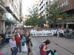 Manifestación contra el cierre de camas. Ponferrada, 11 jun. 2014. Unecologistaenelbierzo.