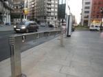 Pl. Lazúrtegui. 8.20 h. Continúa sin haber ninguna bici en el punto de préstamo. Ecobierzo.org.