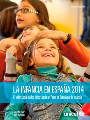 Informe de Unicef sobre la situación de la infancia en España, 2014.