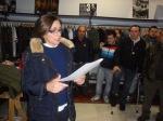 Presentación pública de 'Podemos' en Ponferrada. 28 febr. 2014. Fuente: Unecologistaenelbierzo.com. Foto: Enrique L. Manzano.