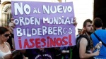 Protesta callejera contra el Club Bilderberg.   Periodistadigital.com