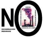 Pegatina. 'No incineración residuos'. 2013.