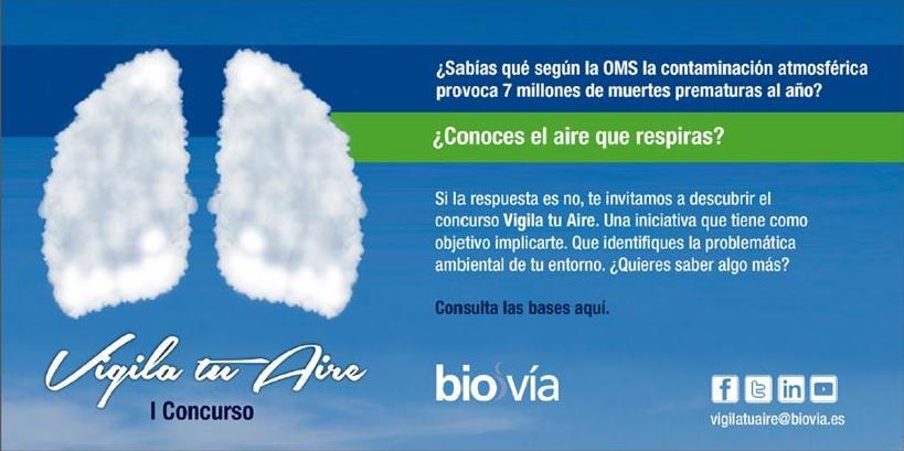 Concurso 'Vigila tu aire'. 2014. Fuente unecologistaenelbierzo.wordpress.com.