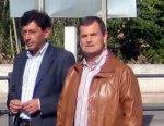 El portavoz  del PP, Jaime González y el también diputado provincial, José Antonio Velasco, presidente de Gersul. 2012. Bembibredigital.com.