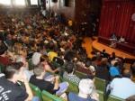Una asamblea de Podemos. 14 jun. 2014. Fuente: unecologistaenelbierzo.wordpress.com. Foto: Enrique L. Manzano.