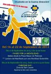 Semana Europea de la Movilidad. 22-26 sept. 2014. Palencia.
