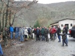 Concentración en defensa del valle do Seo. 20 enero 2013. Unecologistaenelbierzo.wordpress.com. Foto: Enrique L. Manzano.