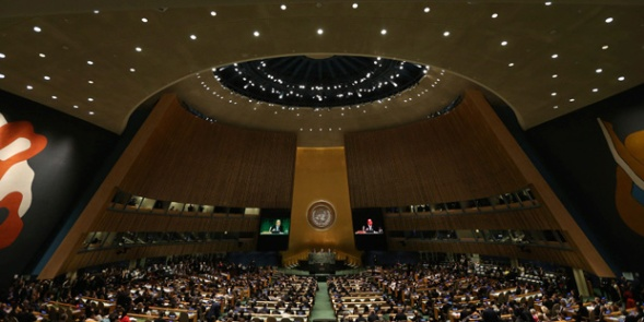 Asamblea General de la ONU. 23 sept. 2014. Fuente: latercera.com.