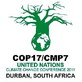 COP 17. Durban (Sudáfrica). Cumbre de la ONU sobre Cambio Climático. 28 nov. - 9 dic. 2011.