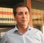 El alcalde de Fabero, José Ramón Cerezales. 2011.