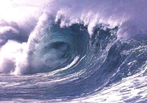 Energía mareomotriz inagotable para la producción eléctrica. Fuente taringa.net.