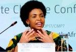 La presidenta de la COP 17, Maite Nkoana-Mashabane. Durban, 28 nov. - 9 dic. 2011. Cmp7durban.com.