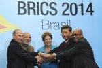 Los principales líderes del BRIC en Brasil. 15 jul. 2014. Eng.kremlin.ru.