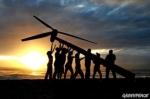 Cambio climático. Es necesario invertir más en energías renovables. Fuente: greenpeace.org.