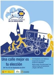 Semana Europea de la Movilidad 2014. Ponferrada, 16-22 sept. 2014.